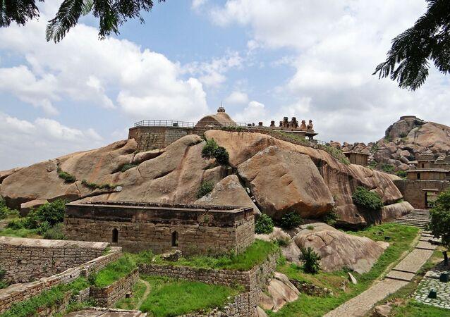 Fortificação na Índia (imagem referencial)