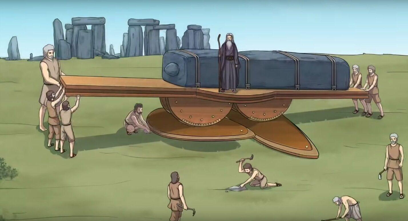 Máquina de Stonehenge, motor megalítico criado pelo galês Steven Tasker