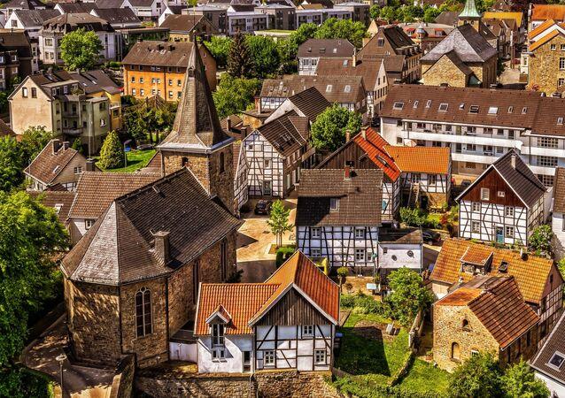 Cidade alemã (imagem referencial)
