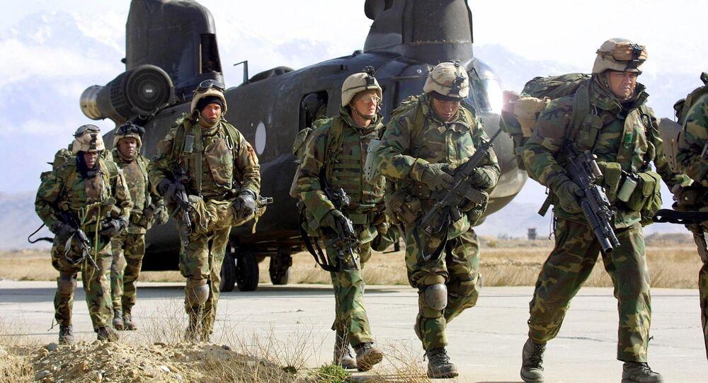 Soldados dos EUA no Afeganistão (foto de arquivo)
