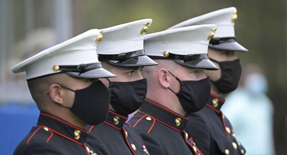 Fuzileiros navais dos EUA (imagem referencial)