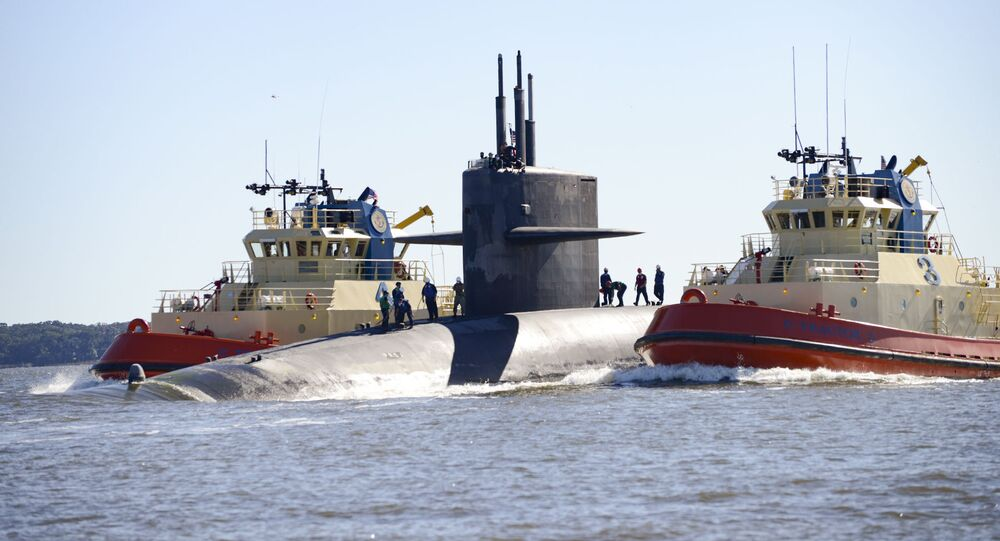 Submarino de míssil balístico USS Tennessee (SSBN 734)