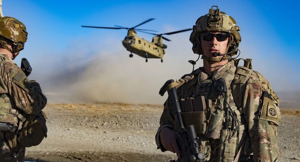 Militares dos EUA no sudeste do Afeganistão