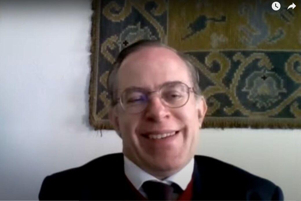 O professor Paulo Pulido Adragão, da Faculdade de Direito da Universidade do Porto (FDUP)
