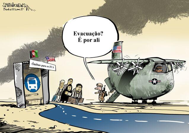 Check-in para fugir aos EUA