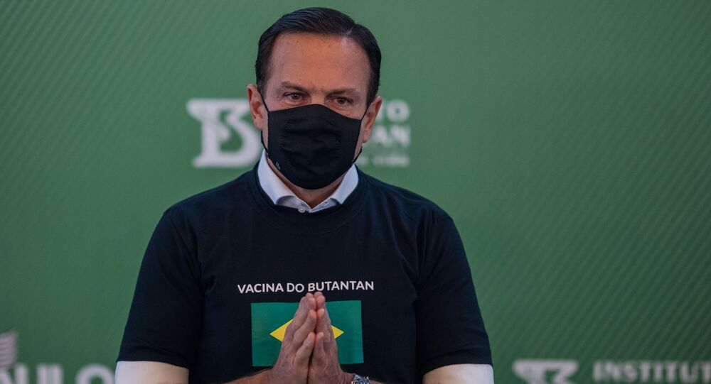 O governador de São Paulo, João Doria, em evento na Universidade de São Paulo. Foto de arquivo