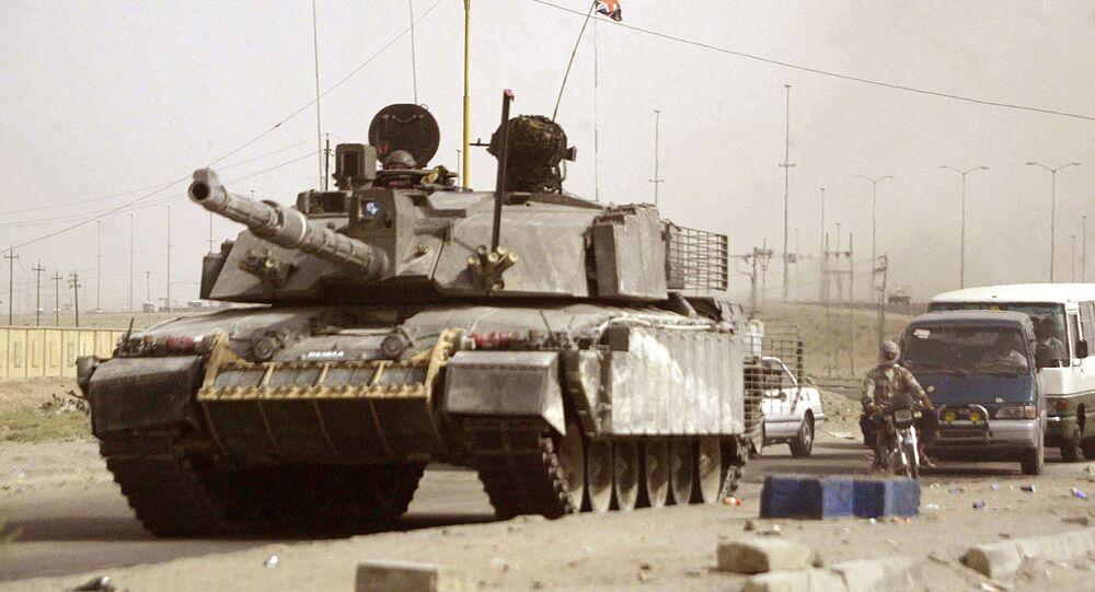 Tanque britânico Challenger 2