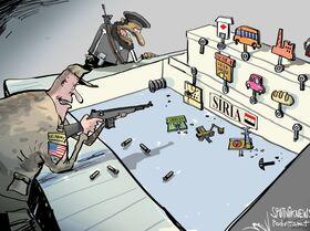 Tiro por encomenda na Síria
