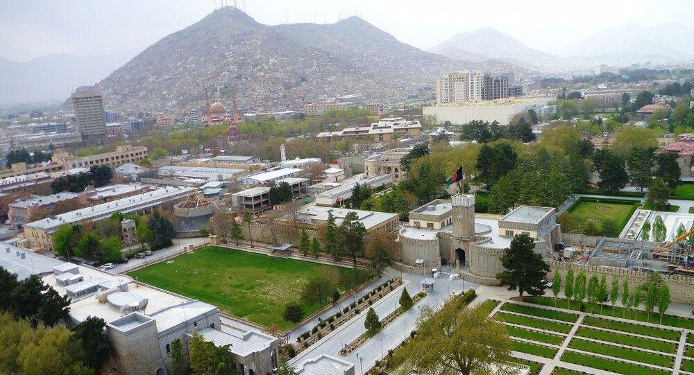 Palácio presidencial de Cabul