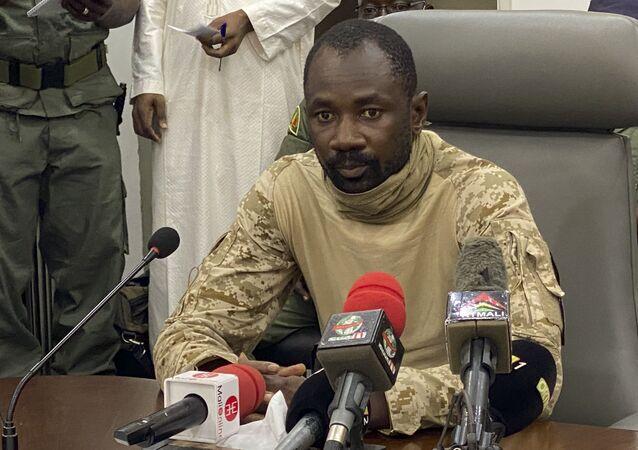 Presidente interino de Mali, coronel Assimi Goita