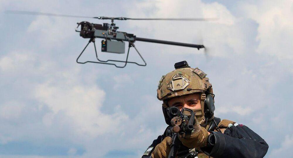 O drone Ghost é projetado para realizar patrulhamento silencioso