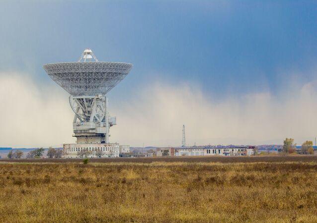 Radiotelescópio (imagem referencial)