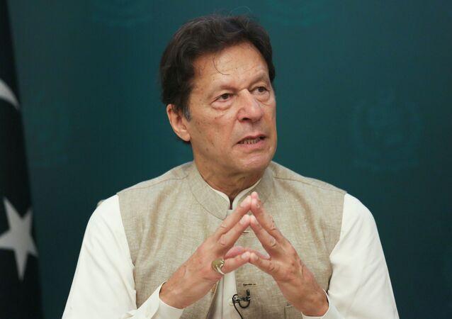 Primeiro-ministro do Paquistão Imran Khan, 4 de junho de 2021