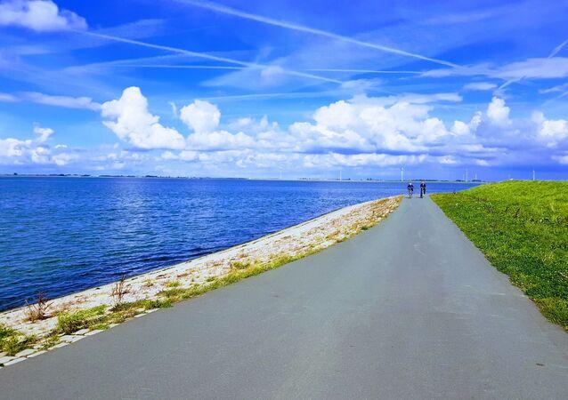 Um dique na Holanda (imagem ilustrativa)