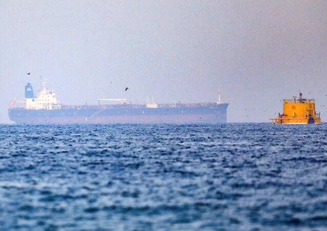 Petroleiro Mercer Street, atacado ao largo da costa de Omã, perto dos Emirados Árabes Unidos, 3 de agosto de 2021