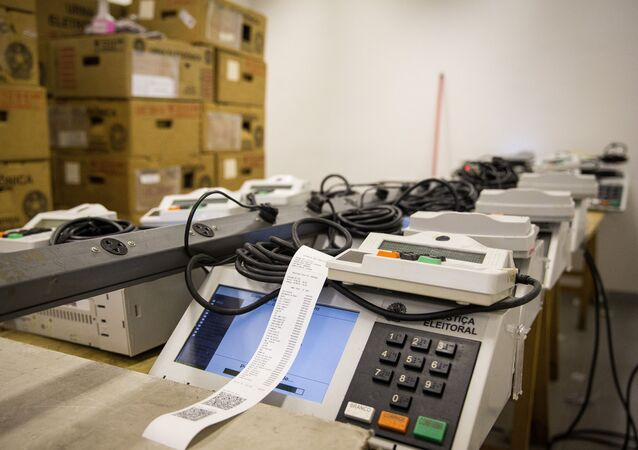 Urnas eletrônicas usadas nas eleições municipais de 2020, 14 de setembro de 2020