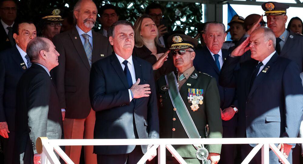 Solenidade Comemorativa ao Dia do Exército Brasileiro, São Paulo, 18 de abril de 2019