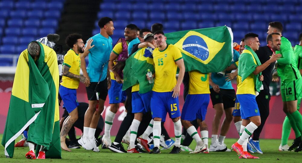 Tóquio 2020: Brasil vence Espanha no futebol masculino e é bicampeão  olímpico (FOTOS) - Sputnik Brasil