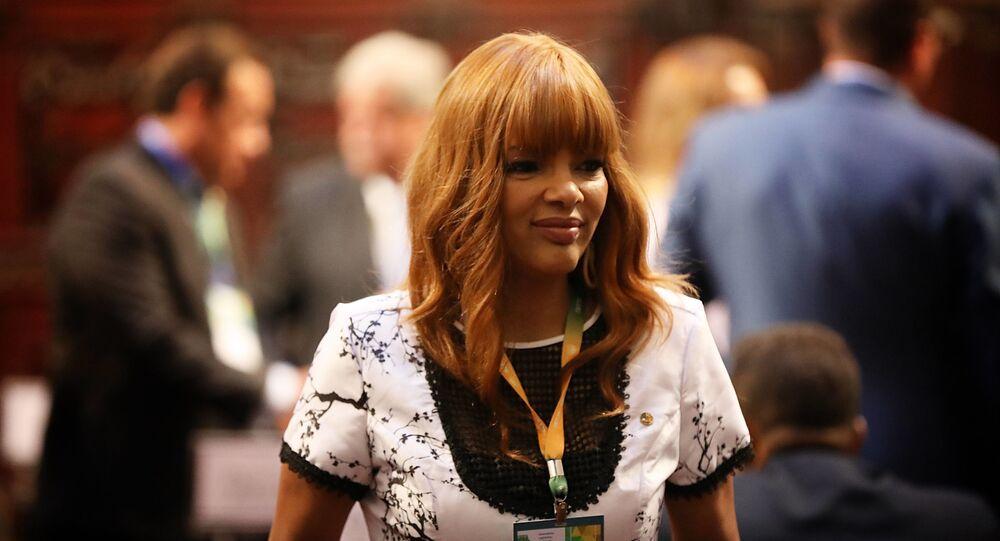 Deputada federal Flordelis (PSD-RJ). Foto de arquivo