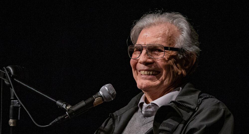 O ator Tarcísio Meira na Livraria Cultura, em São Paulo. Foto de arquivo