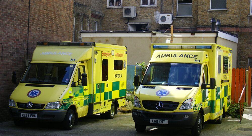 Ambulâncias no Reino Unido (imagem referencial)