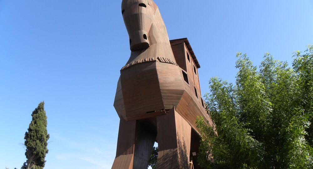 Cavalo de Troia (imagem referencial)