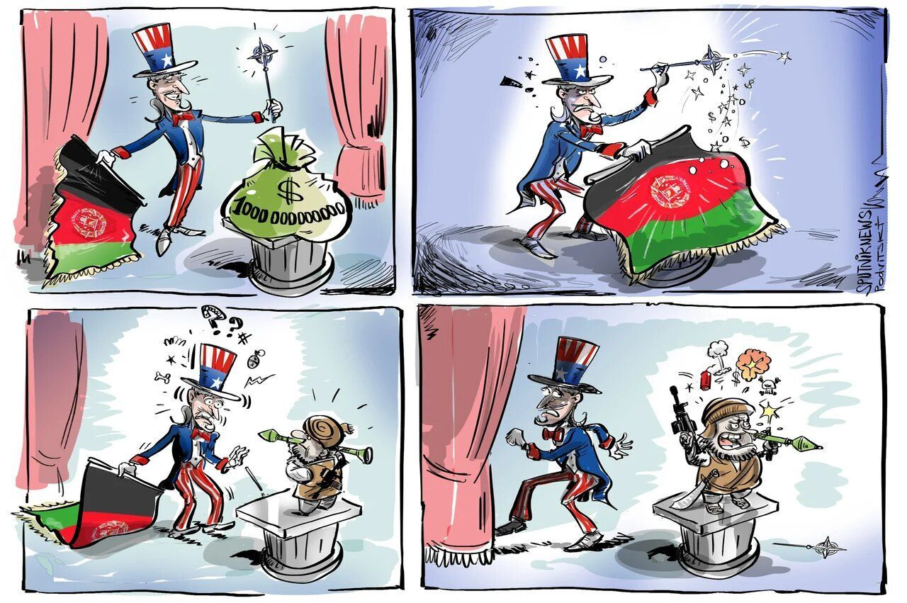 EUA gastaram US$ 1 trilhão no Afeganistão
