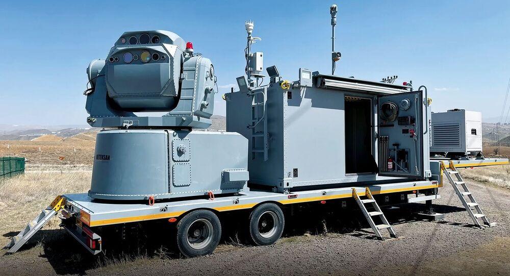 Sistema de armas a laser NAZAR