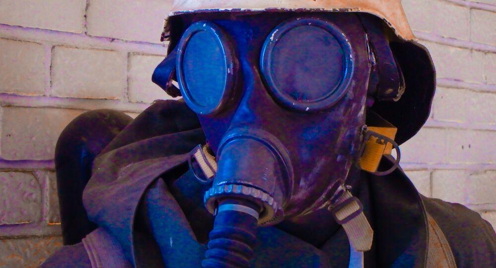 Máscara de gás (imagem referencial)