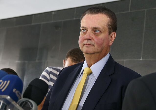 Presidente do PSD, Gilberto Kassab. Foto de arquivo
