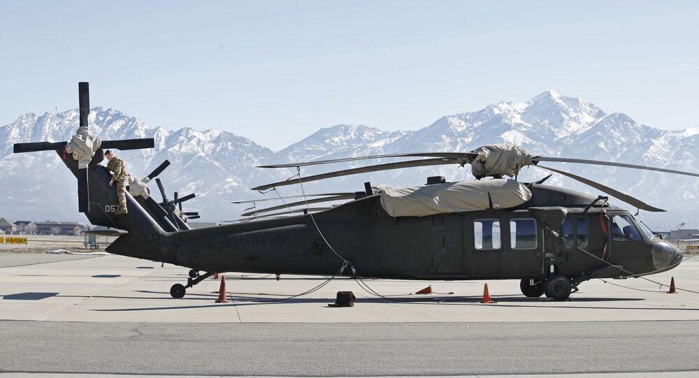 Helicóptero UH-60 Black Hawk (imagem referencial)