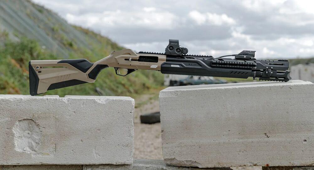 Espingarda inteligente MP-155 Ultima da Kalashnikov
