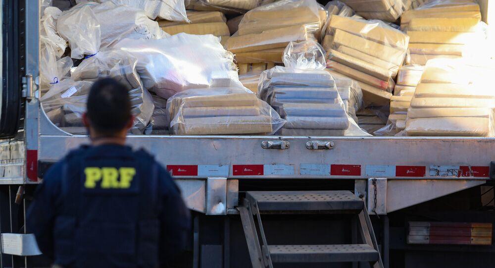 Operação da PF em Volta Redonda apreende grande carga de cocaína, 24 de junho de 2021
