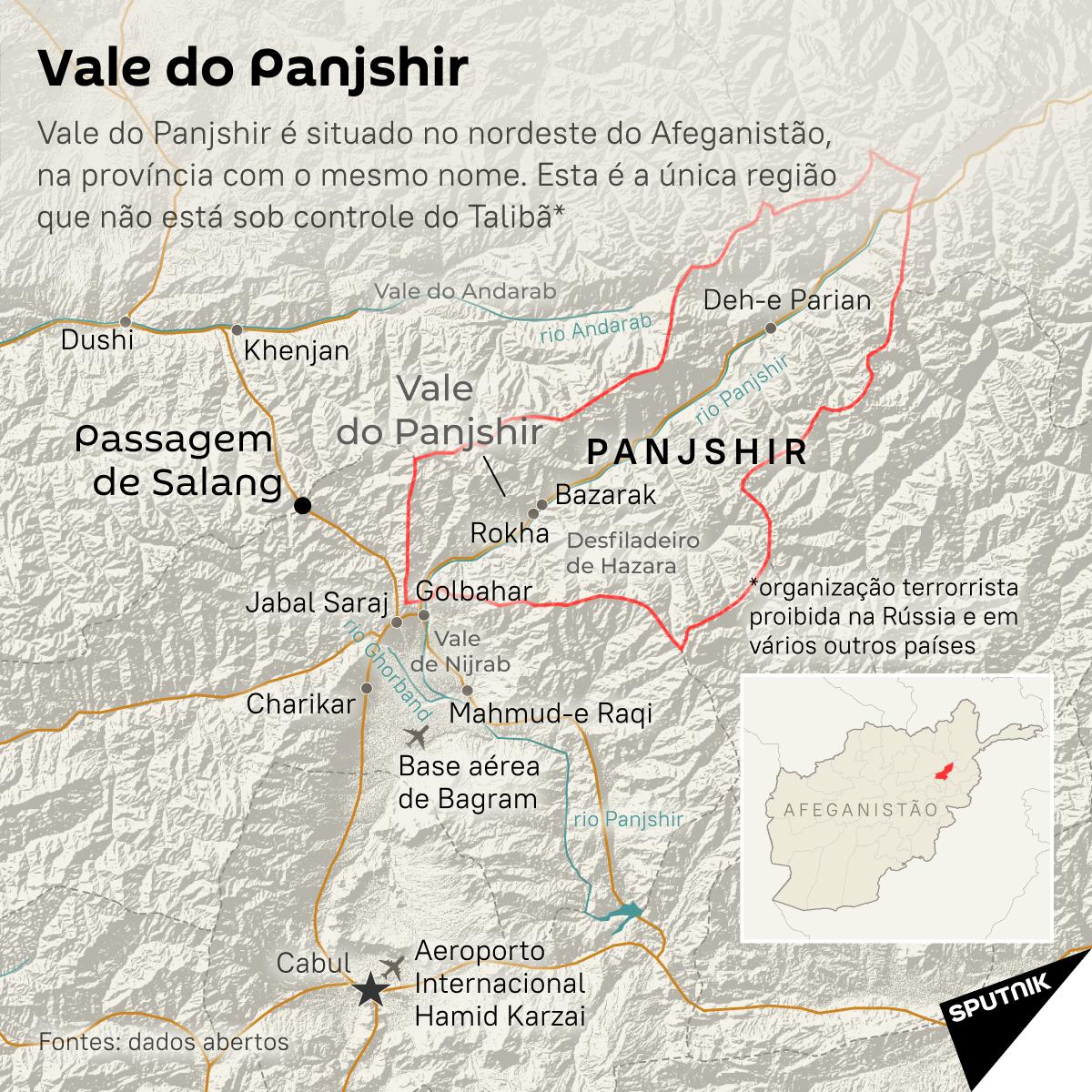 Vale do Panjshir: única região resistente ao Talibã