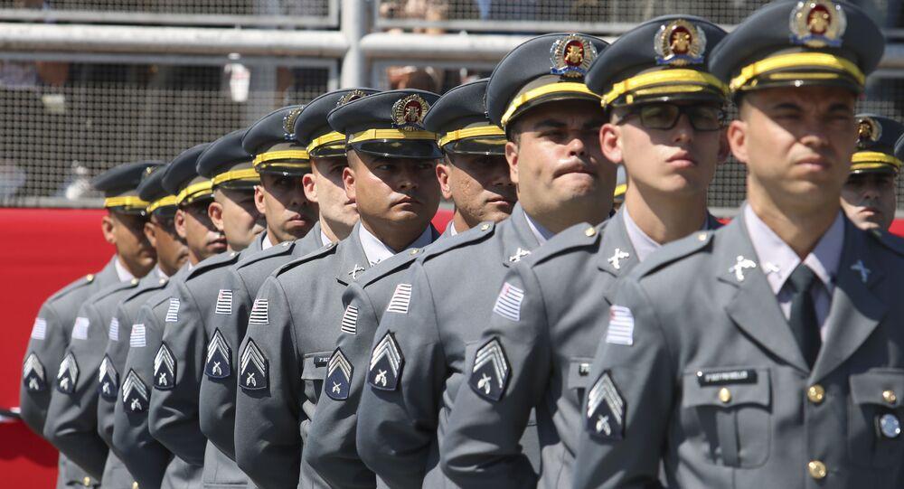 Solenidade de Formatura do Curso Superior de Tecnólogo de Polícia Ostensiva e Preservação da Ordem Pública, no Parque Anhembi, 11 de outubro de 2019