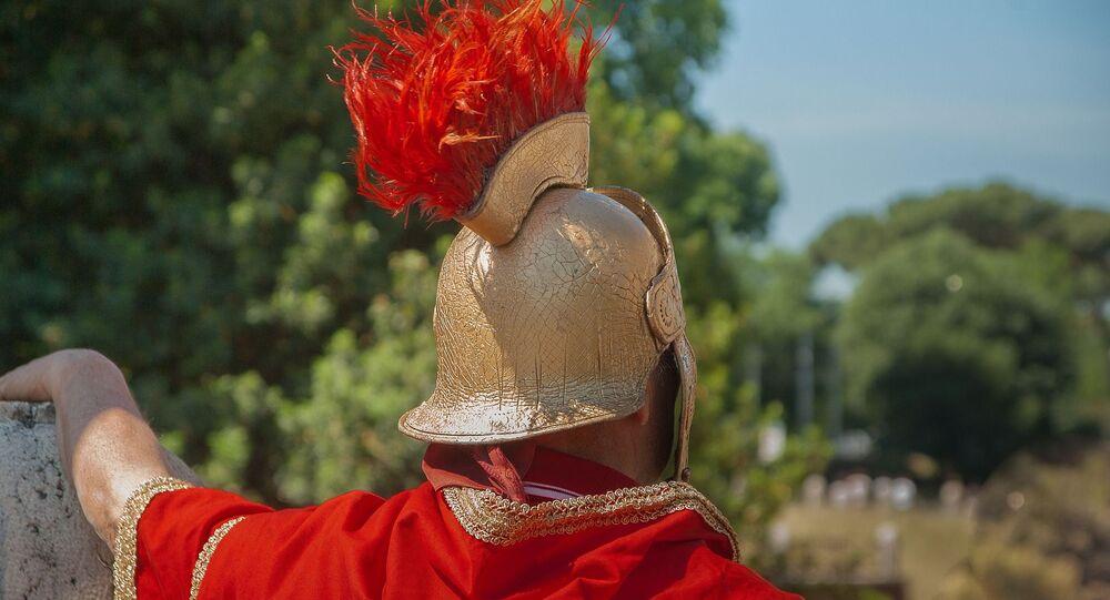 Soldado romano (imagem referencial)