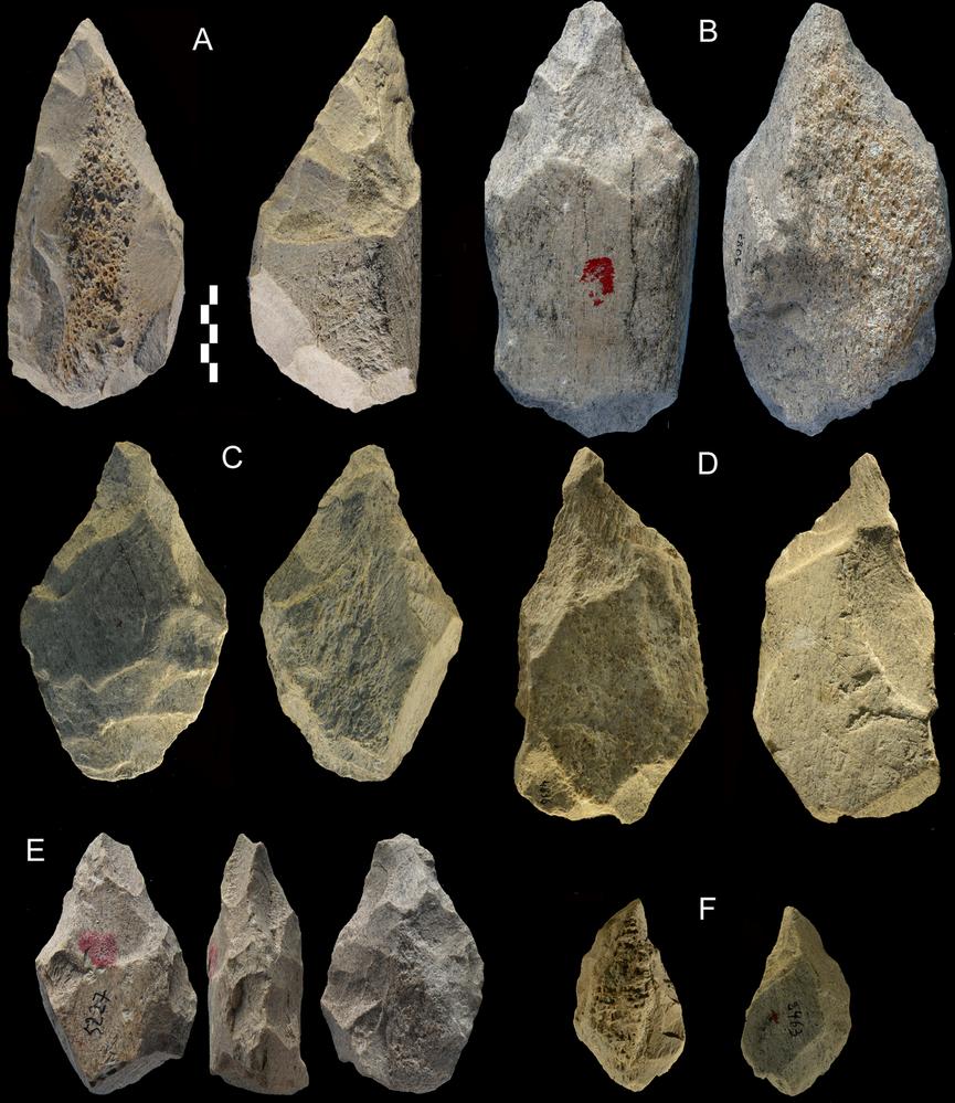 Ferramentas de 400 mil anos produzidas por espécie desconhecida de seres humanos e encontradas em Castel di Guido, na Itália