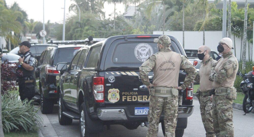 Polícia Federal deflagrou, em conjunto com o GAECO/MPF e a Receita Federal, a Operação Kryptos, 25 de agosto de 2021