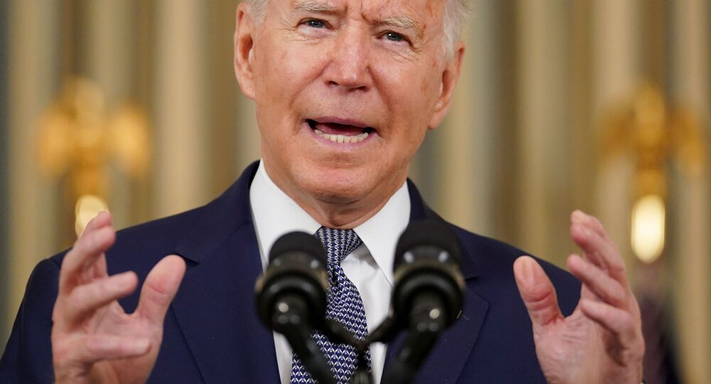 Joe Biden, presidente dos EUA, comenta Relatório de Empregos de agosto na Casa Branca em Washington, EUA, 3 de setembro de 2021