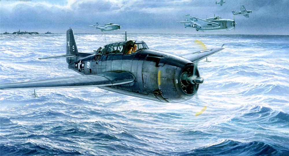 Avião-torpedeiro Grumman TBF Avenger (imagem referencial)