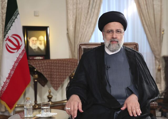 Ebrahim Raisi, presidente do Irã, participa de entrevista no Escritório da Presidência em Teerã, Irã, 4 de setembro de 2021