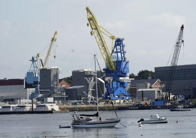 Estaleiro naval de Portsmouth, 8 de setembro de 2021