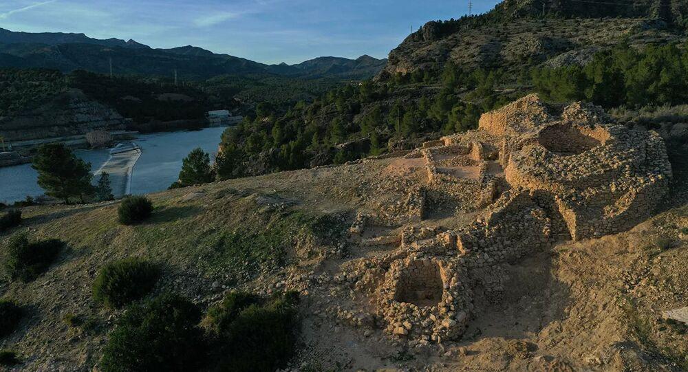 Povoado ibero de L'Assut, em Tarragona, sítio de escavações na Espanha