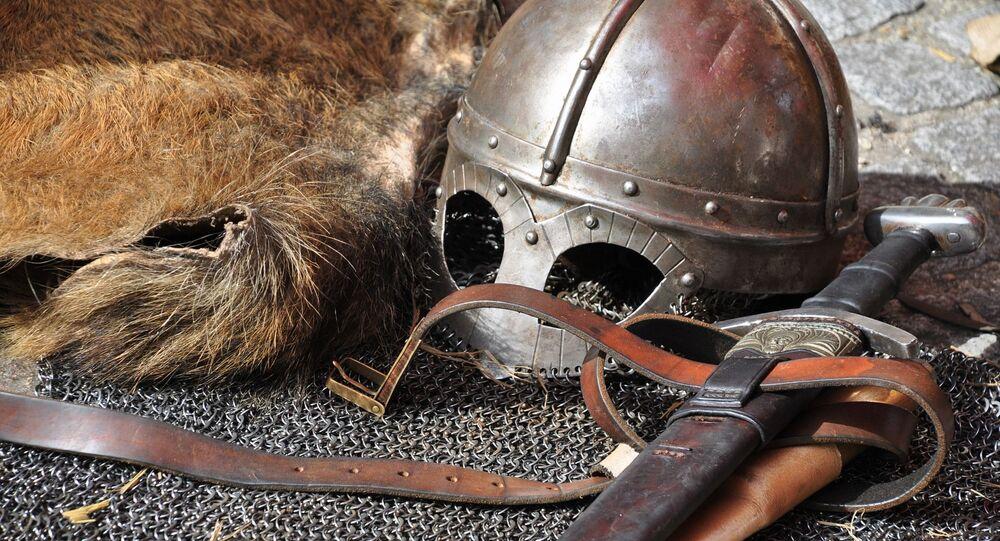 Objetos de antigo guerreiro (imagem referencial)