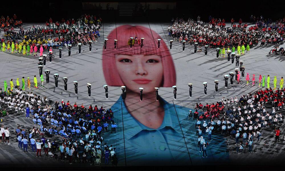 Cerimônia de encerramento dos XVI Jogos Paralímpicos de Verão em Tóquio