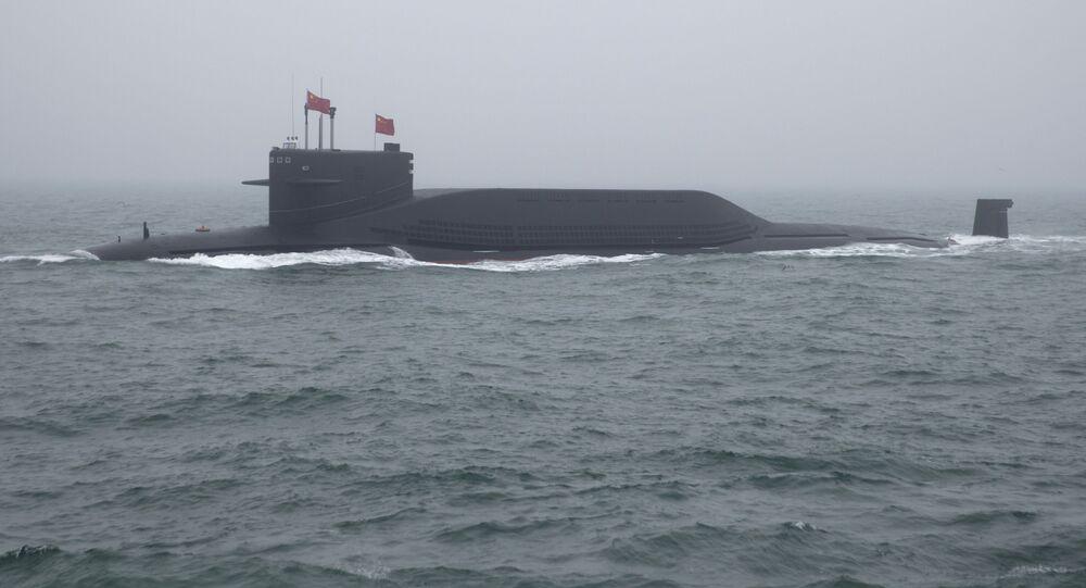 Submarino nuclear Type 094 da classe Long March 15 do Exército de Libertação Popular (ELP) da China
