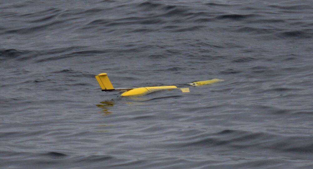 Um planador subaquático operado via satélite (imagem referencial)