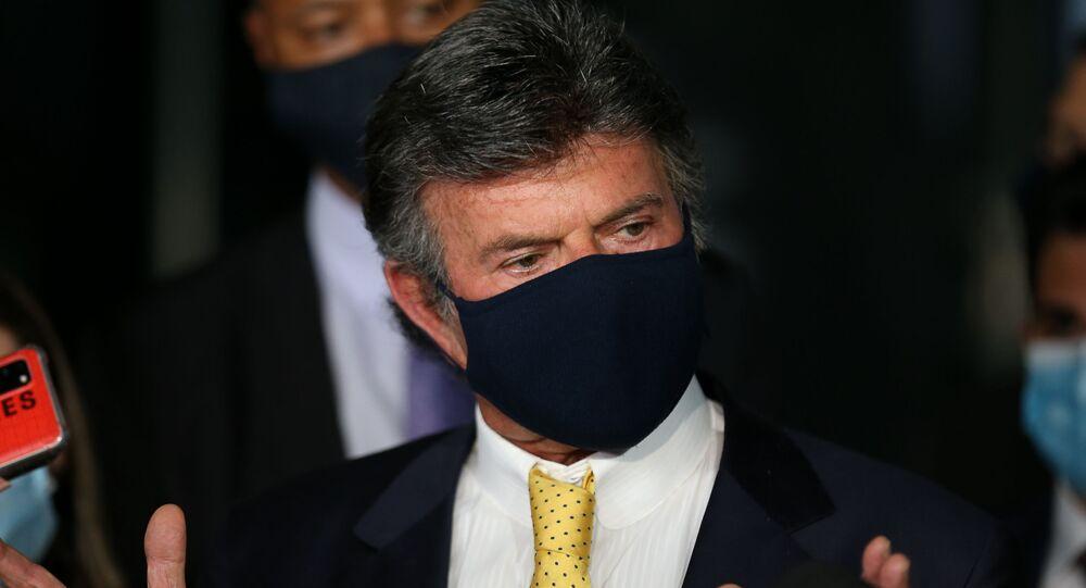 Luiz Fux almoça com empresários em SP e defende sua resposta a Bolsonaro, 10 de setembro de 2021