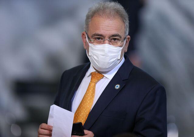 Ministro da Saúde Marcelo Queiroga. Foto de arquivo