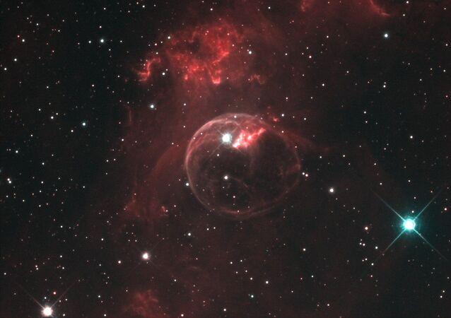 Bolha no espaço (imagem referencial)